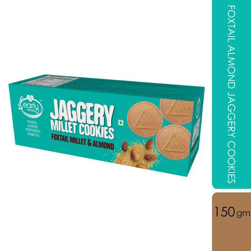 Early Foods - Foxtail Almond Jaggery Cookies 150g