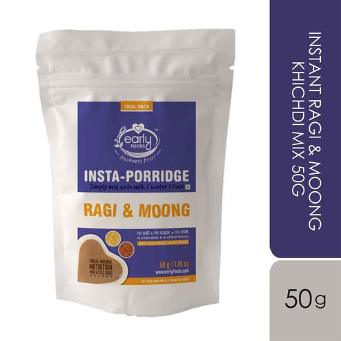 Early Foods - Trial Pack - Instant Ragi & Moong Khichdi Mix 50g