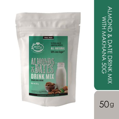 Early Foods - Trial Pack - Almond & Date Drink Mix with Makhana 50g