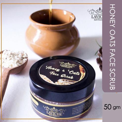 Laviche - Honey Oats Face Scrub - 50Gms