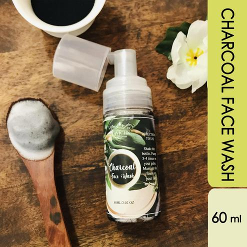 Laviche - Charcoal Face Wash - 60ML