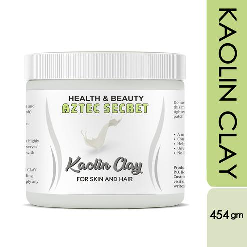 Aztec Secret -Kaolin Clay- 1 lb | Deep Skin & Hair Cleansing Facial & Hair & Body Mask - 454gm