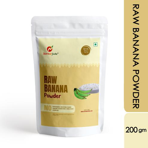 Nutribud Foods - Raw Banana Powder - 200g