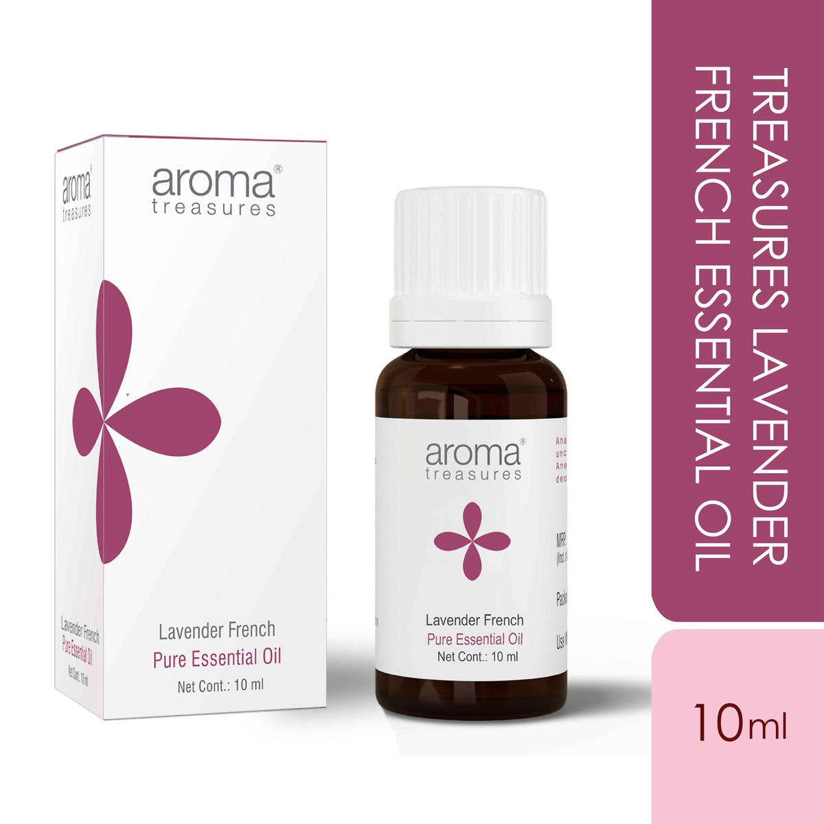 Aroma Treasures Lavender French Essential Oil - 10ml