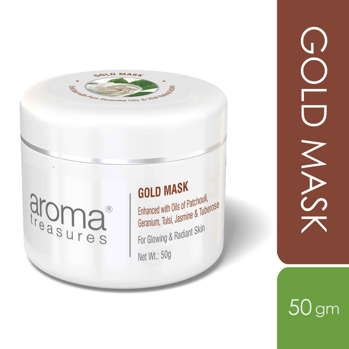 Aroma Treasures Gold Mask - 50 Gm