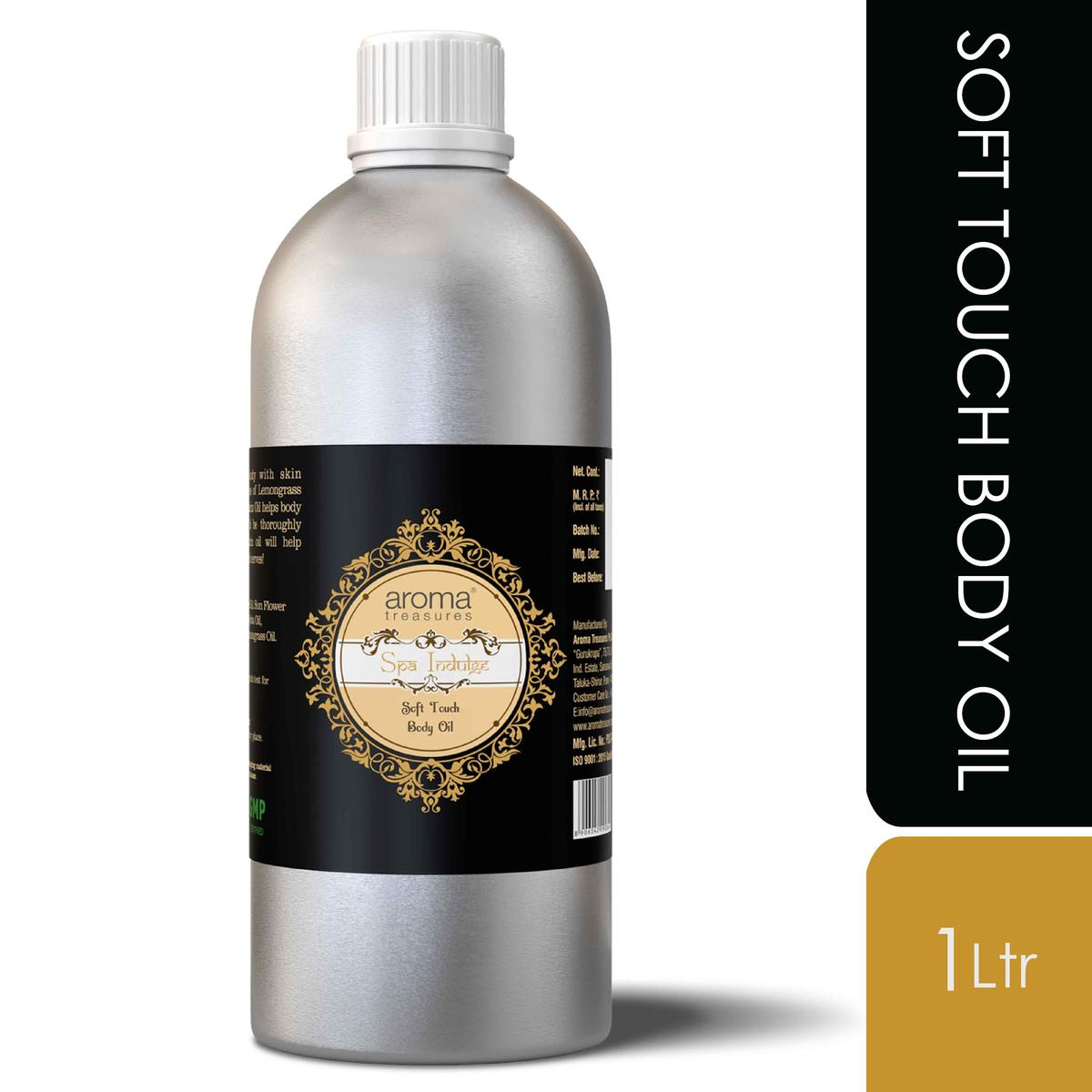 Aroma Treasures Soft Touch Body Oil - 1 Ltr