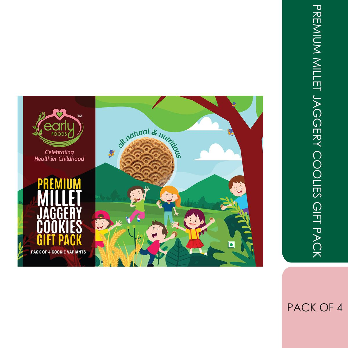 Early Foods - Premium Millet Jaggery Cookies Gift Box
