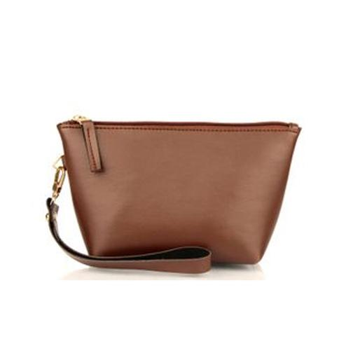 TMN Brown Cosmetic Pouch