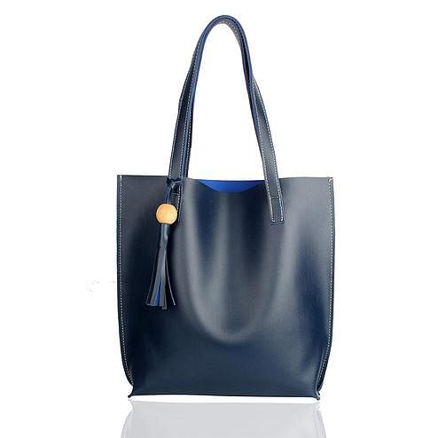 TMN Blue Tote Bag