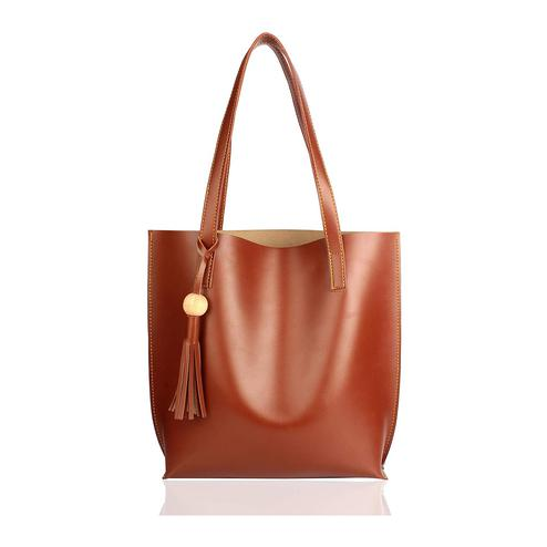 TMN Brown Tote Bag