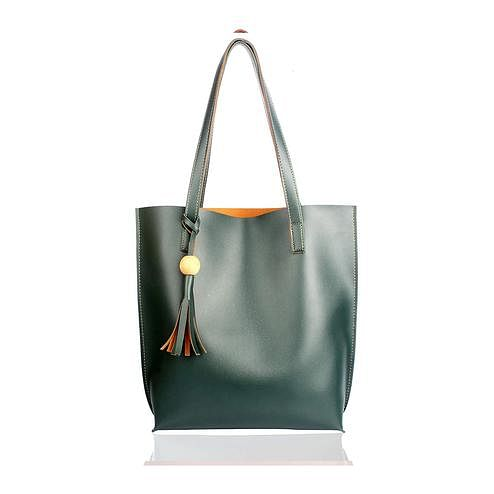 TMN Green Tote Bag