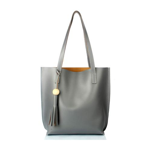 TMN Grey Tote Bag