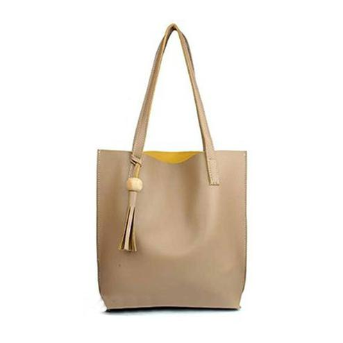 TMN Cream Tote Bag