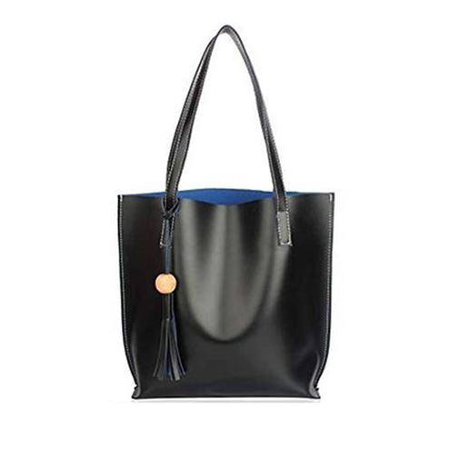 TMN Black Tote Bag