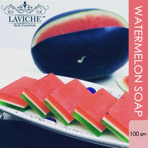 Laviche - Watermelon Soap - 100Gms