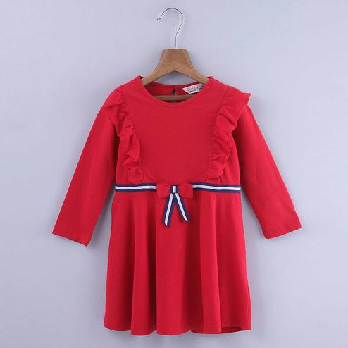 Beebay Fit And Flare Jersey Dress For Kids