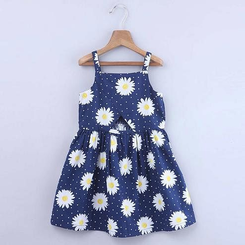 Beebay Daisy Floral Print Dress For Kids