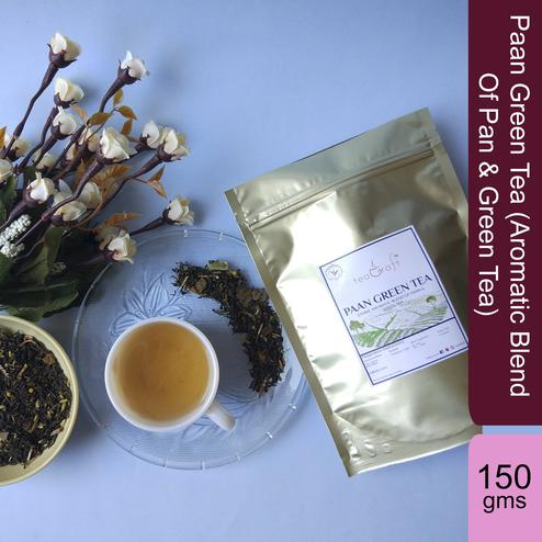 Paan Green Tea (Aromatic Blend Of Pan & Green Tea) - 150 Gms