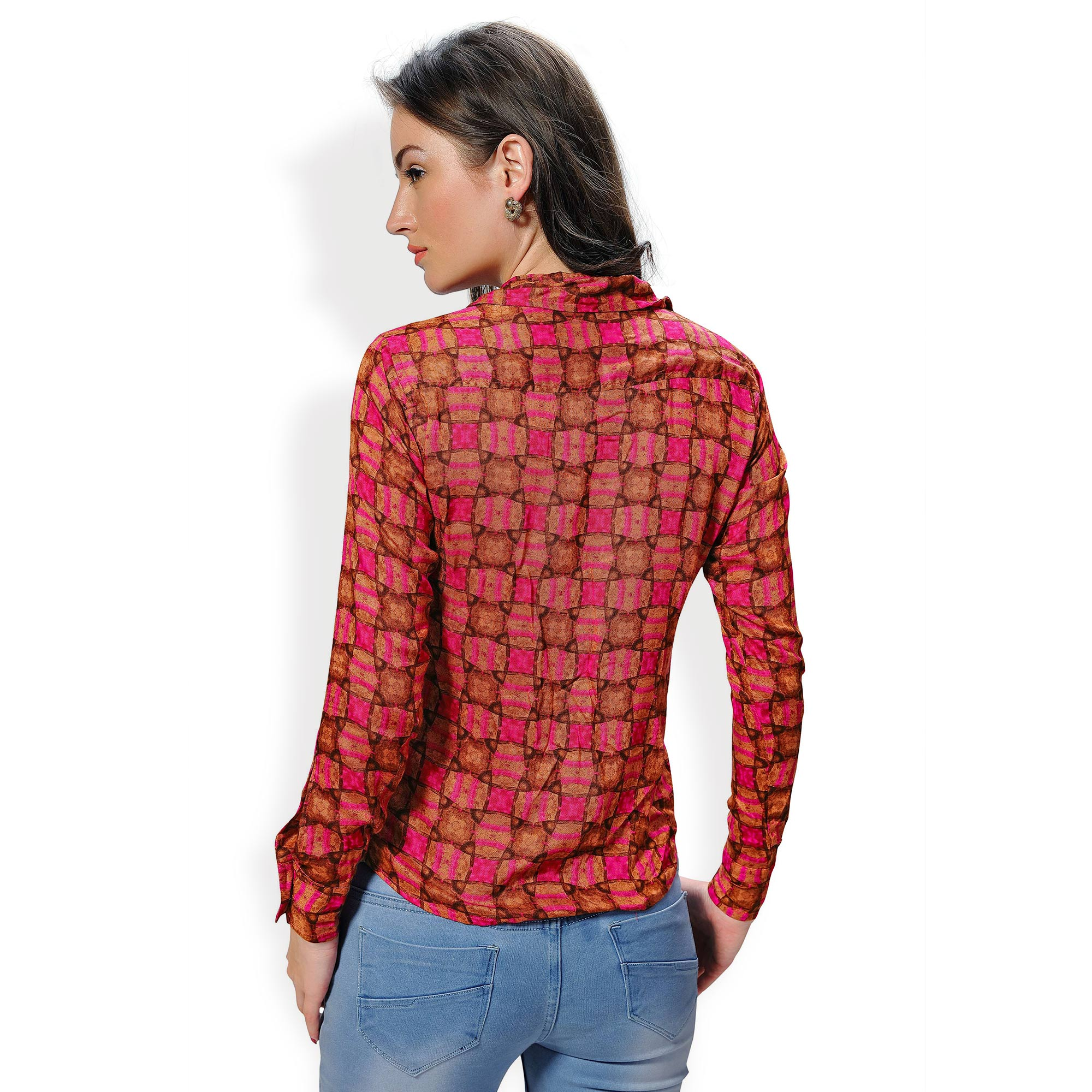 Multi Color Casual Wear Printed Shirt