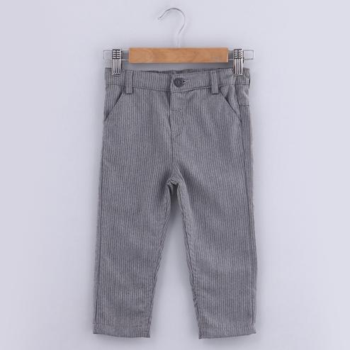 Beebay Grey Pinstripe Trouser For Kids