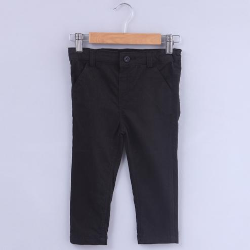 Beebay Black Chino Trousers For Kids