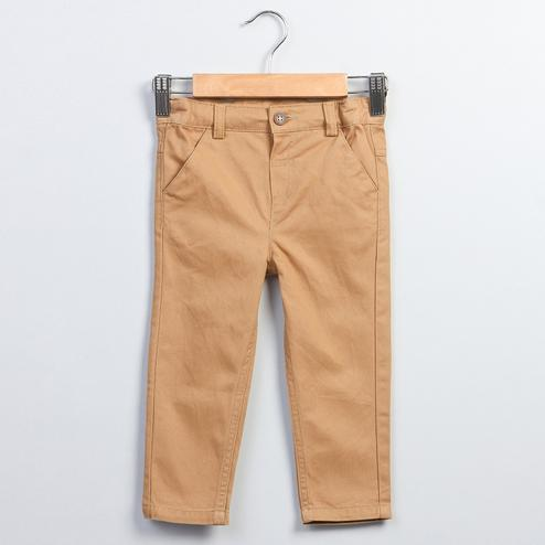 Beebay Mustard Chino Trousers For Kids