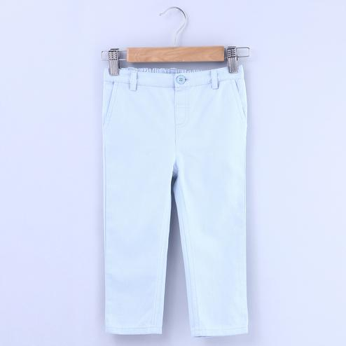 Beebay Powder Blue Trouser For Kids