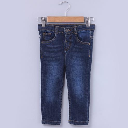 Beebay Vintage Regular Fit Jeans For Kids