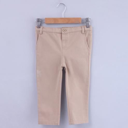 Beebay Beige Chino Trouser For Kids