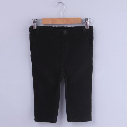 Beebay Black Corduroy Trouser For Kids