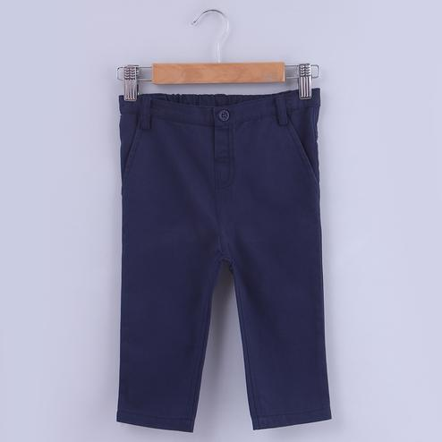 Beebay Navy Chino Trouser For Kids