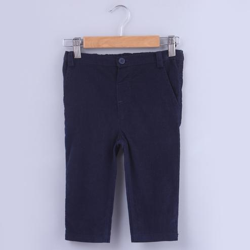 Beebay Navy Corduroy Trousers For Infants