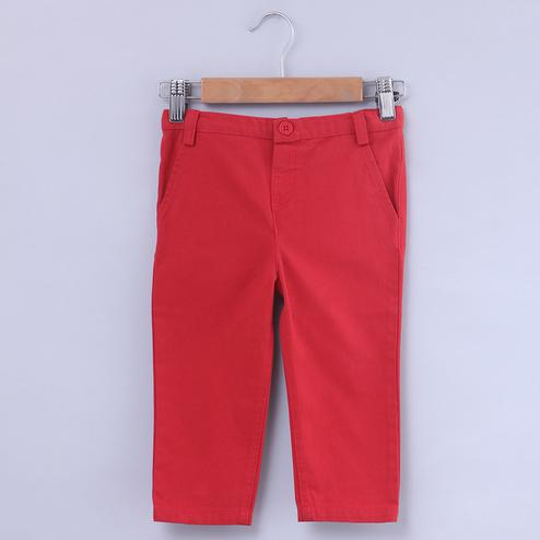 Beebay Red Chino Trouser For Infants