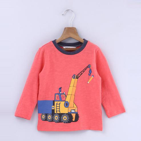 Beebay Crane Print T-Shirt For Kids