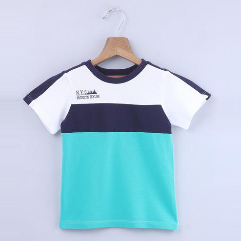 Beebay Nyc Color Block T-Shirt For Kids