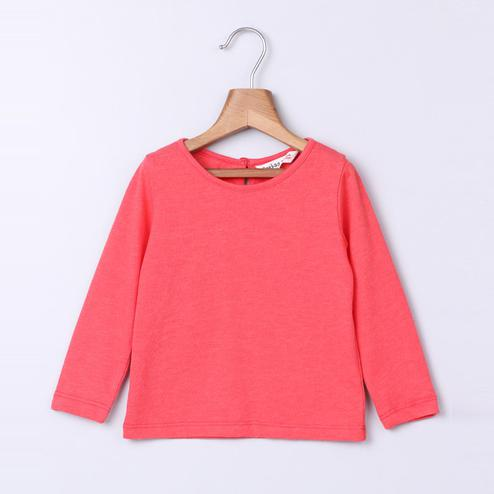 Beebay Coral Melange T-Shirt For Infants