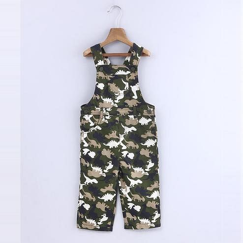 Beebay Camouflage Print Dungaree For Infants