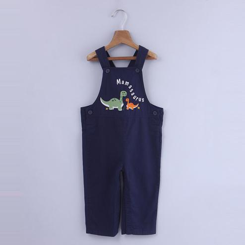 Beebay Dinosaur Embroidered Dungaree For Infants