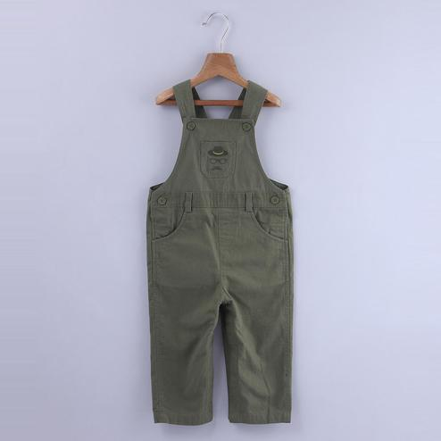 Beebay Hipster Embroidered Dungaree For Infants