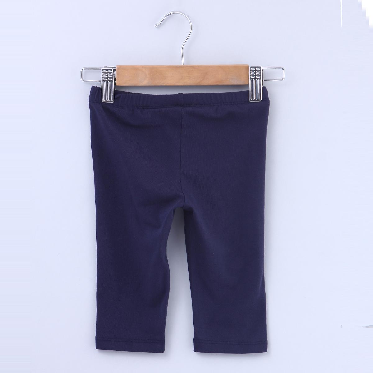 Beebay Navy 3/4 Legging For Infants