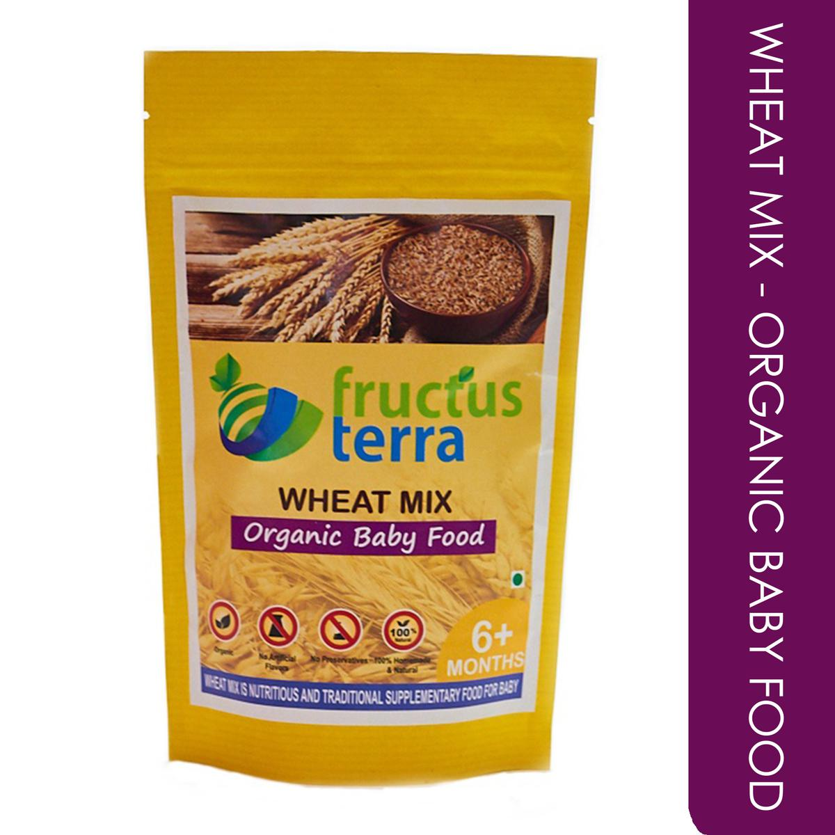Certified Organic Sprouted Wheat Mix