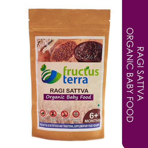 Certified Organic Sprouted Ragi Sattva