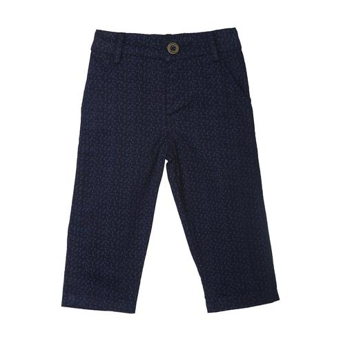 612 League - Blue Colored Twill Printed Pant Trouser For Baby Boys