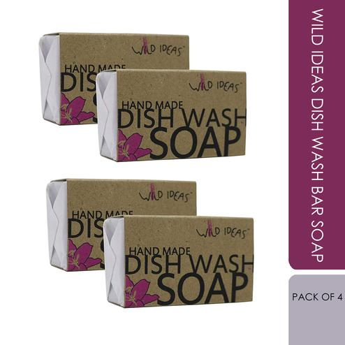 Wild Ideas Dish Wash Bar Soap (Pack Of 4)