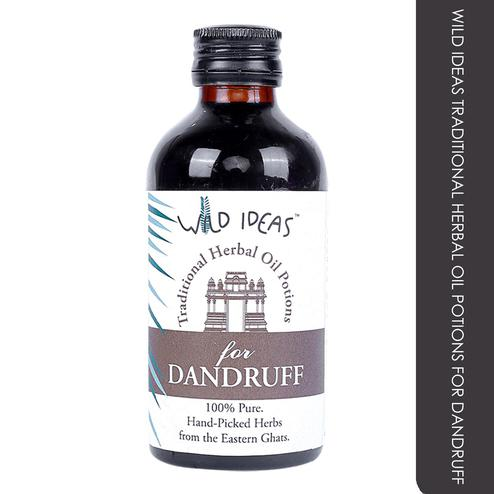 Wild Ideas Traditional Herbal Oil Potions For Dandruff