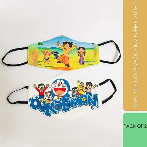 Laviche - Chota Bheem and Doraemon Kids Mask