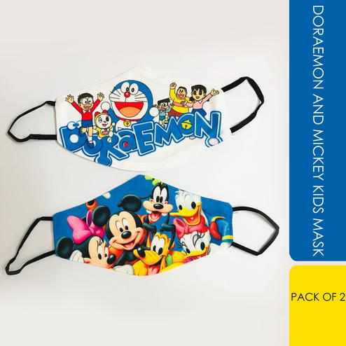 Laviche - Doraemon and Mickey Kids Mask