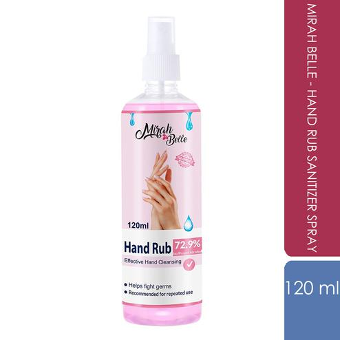Mirah Belle - Hand Rub Sanitizer Spray -120 ML
