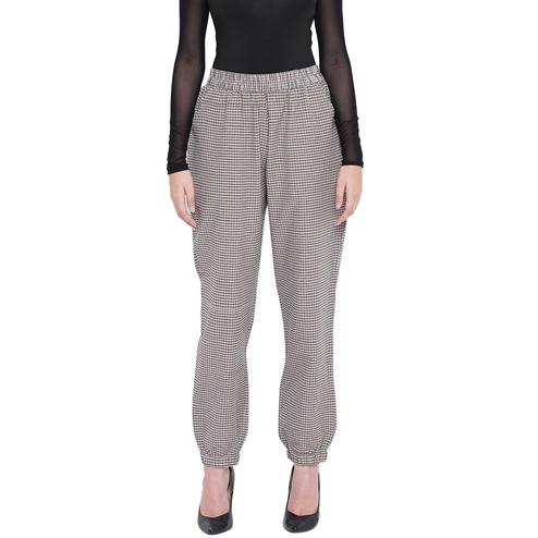Fabnest - Black Colored Casual Wear Printed Cotton Pant