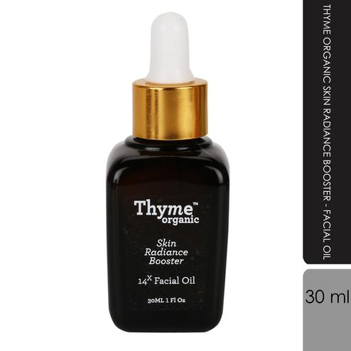 Thyme Organic - Skin Radiance Booster- Facial Oil-(30ml)